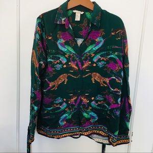 H&M - button up blouse